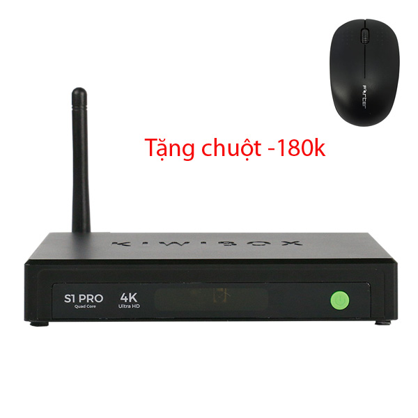 Android TV Box Kiwibox S1 Pro