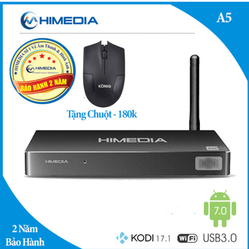 Android TV Box Himedia A5 amlogic S912