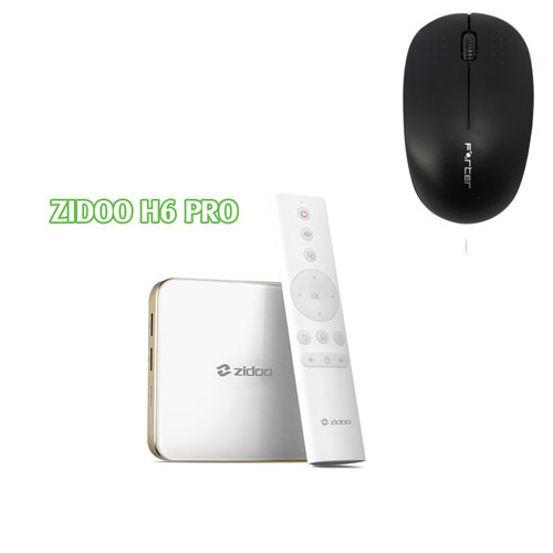 Android TV Box Zidoo H6 Pro Android 7.1